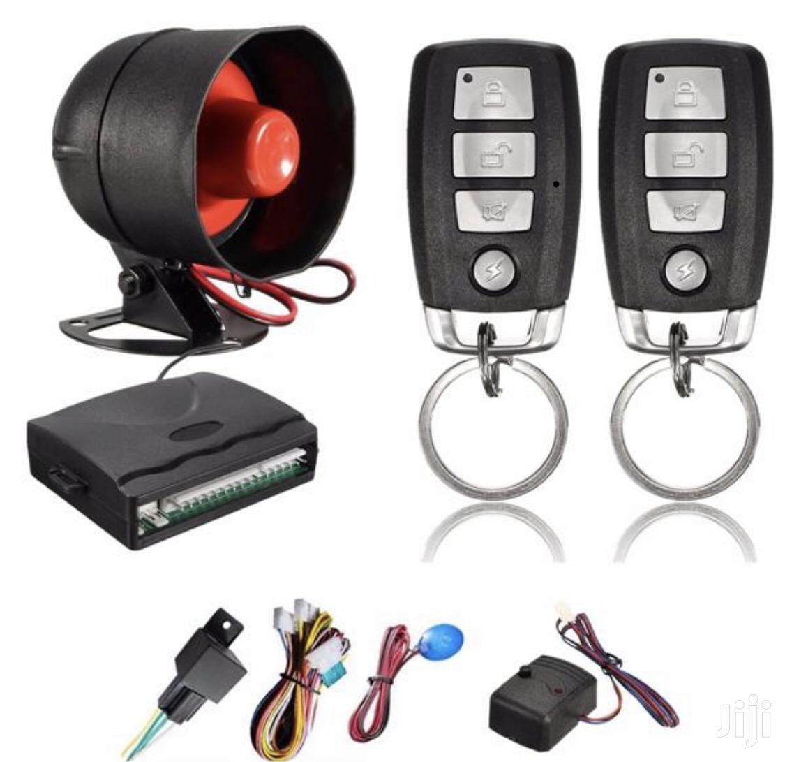 New 1 Way Car Alarm System