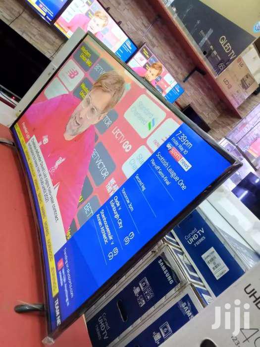 55inches Curve Samsung Digital TV | TV & DVD Equipment for sale in Kampala, Central Region, Uganda