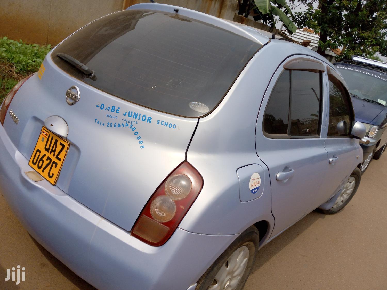 Archive: Nissan March 2002 Blue