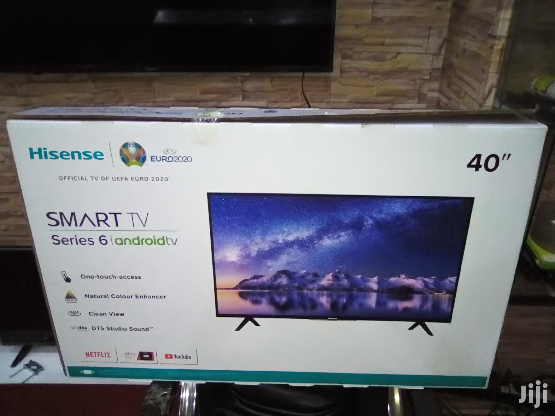 "Archive: Hisense 40"" Smart Android Full HD LED Tvs. 2020 Ultra Slim"