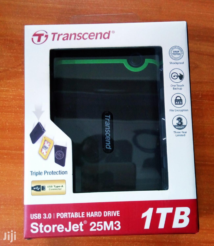 Original Transcend External Hard Drive 1TB