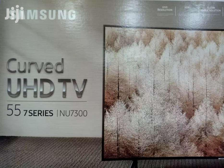 55inches Curve  UHD Samsung 4K Smart TV | TV & DVD Equipment for sale in Kampala, Central Region, Uganda