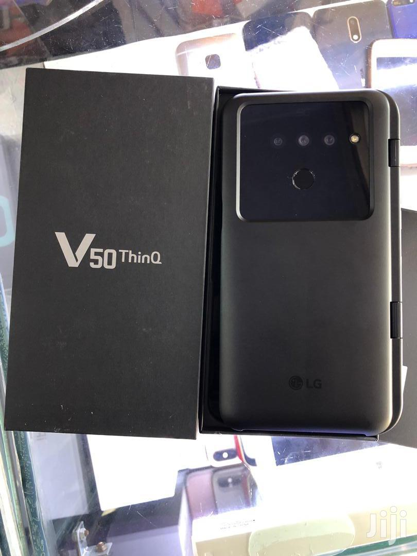 New LG V50 ThinQ 128 GB Black