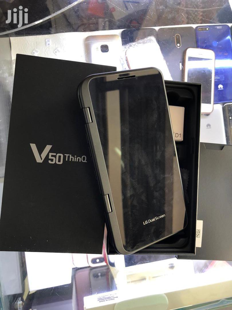 New LG V50 ThinQ 128 GB Black | Mobile Phones for sale in Kampala, Central Region, Uganda