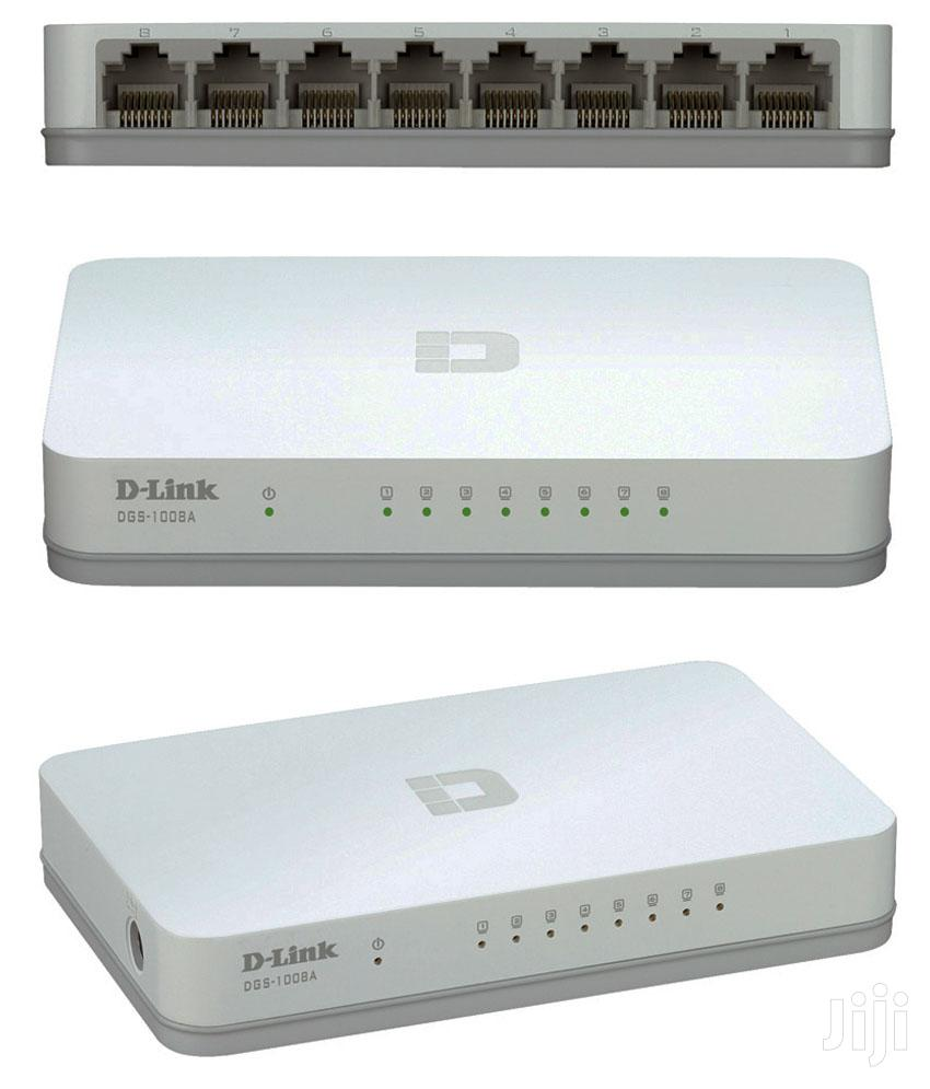 D-link DES-1008A 8-ports Network Switch