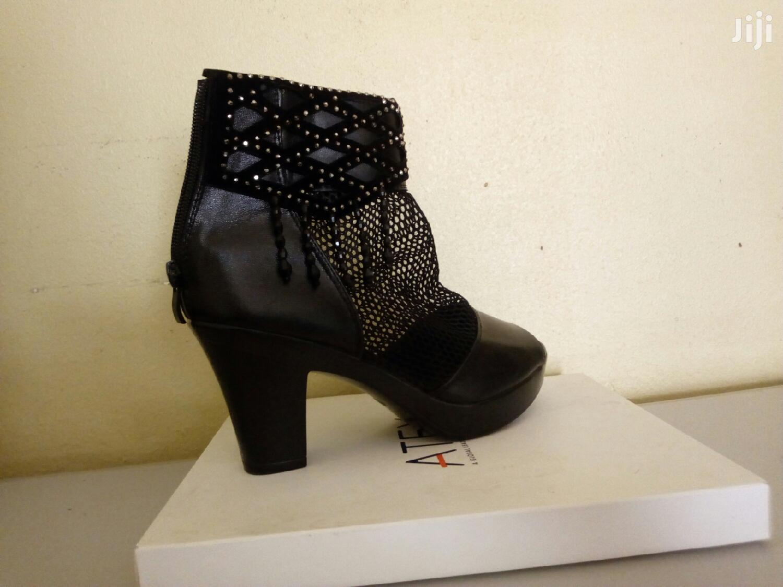Black Heel Ladies Size 37