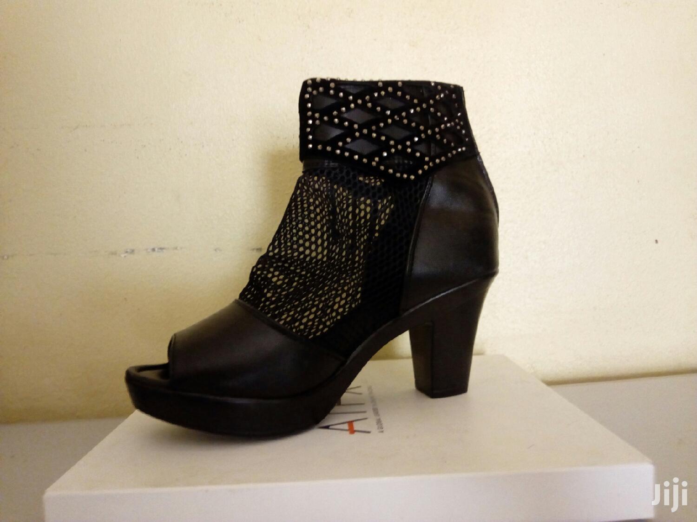 Black Heel Ladies Size 37   Shoes for sale in Kampala, Central Region, Uganda