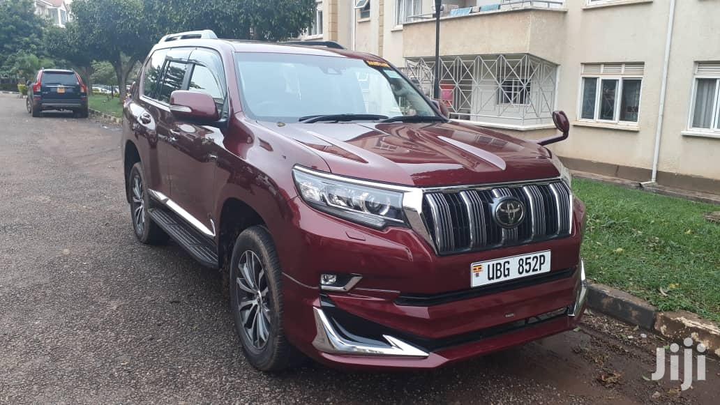 Toyota Land Cruiser Prado 2018 Limited Red | Cars for sale in Kampala, Central Region, Uganda