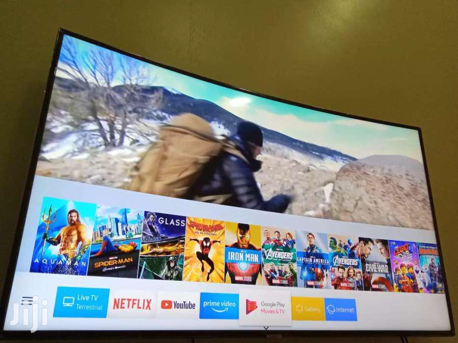 55inches Curve Samsung Smart UHD 4K | TV & DVD Equipment for sale in Kampala, Central Region, Uganda