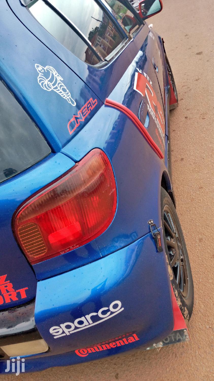 Archive: Toyota Vitz 2002 Blue