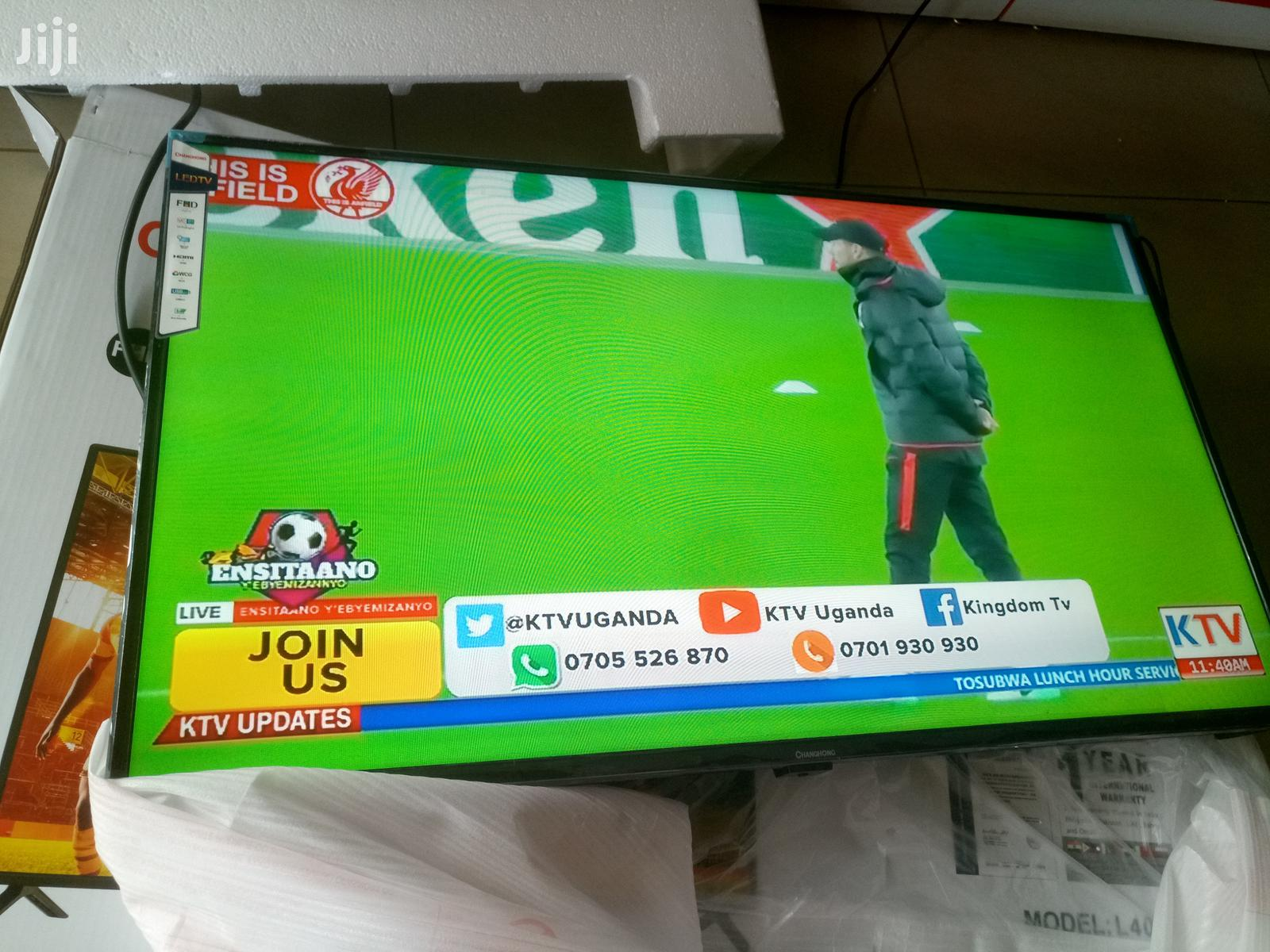 Changhong Flat Screen Digital Tv 40 Inches