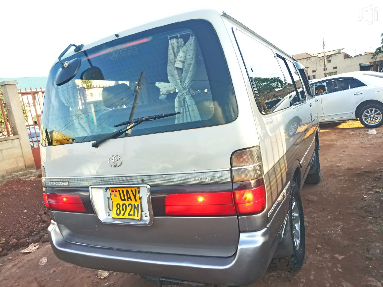 Archive: Toyota Hiace 1997 Silver