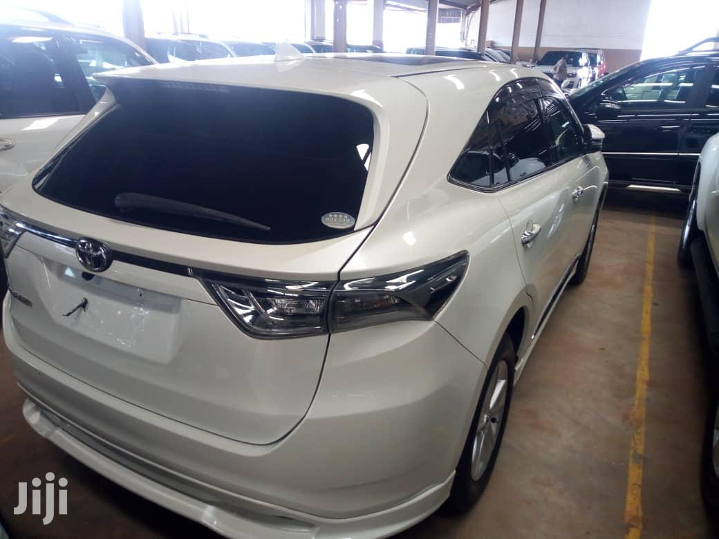 New Toyota Harrier 2015 White