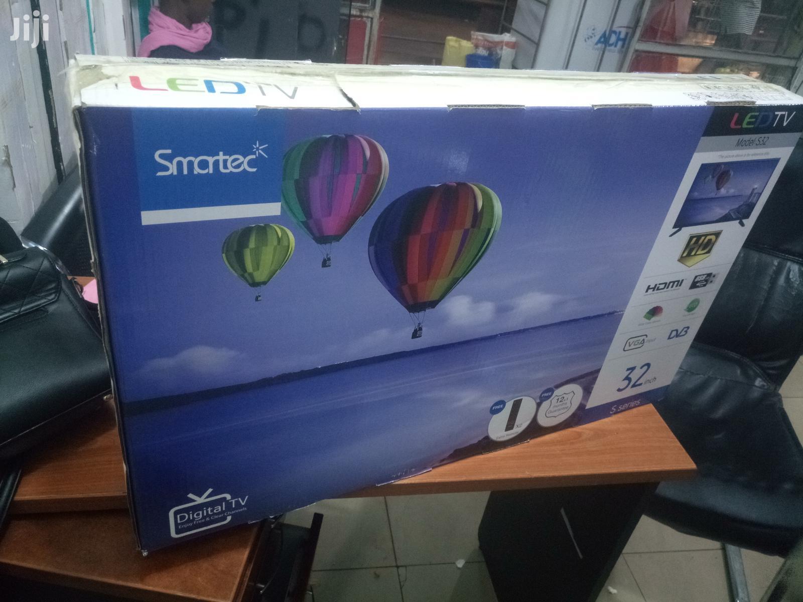 Smartec Flat Screen Digital TV 32 Inches | TV & DVD Equipment for sale in Kampala, Central Region, Uganda