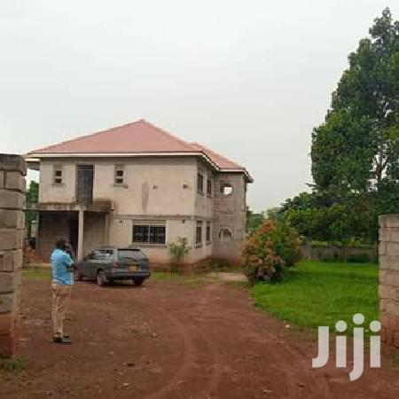 Unfinished Four Bedroom Mansion In Matugga Town For Sale