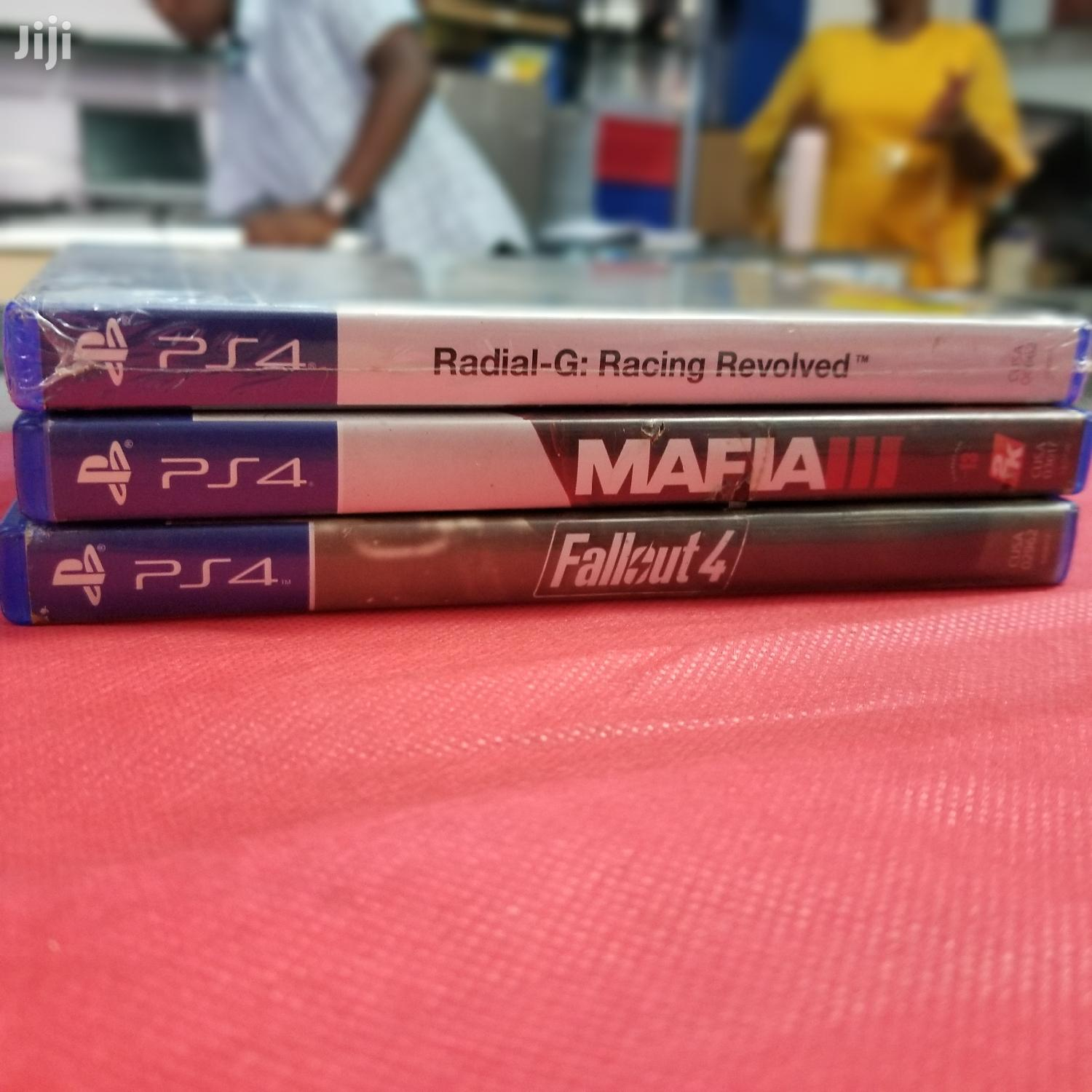 Archive: Ps4 Game Discs