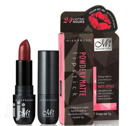 Special Offer - Long Lasting Matte Lipsticks - By Menow | Makeup for sale in Kampala, Central Region, Uganda