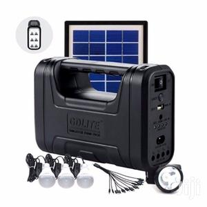 Gd-7 Home Solar Lighting Kit