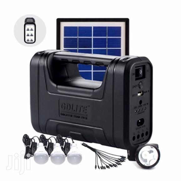 Archive: Gd-7 Home Solar Lighting Kit