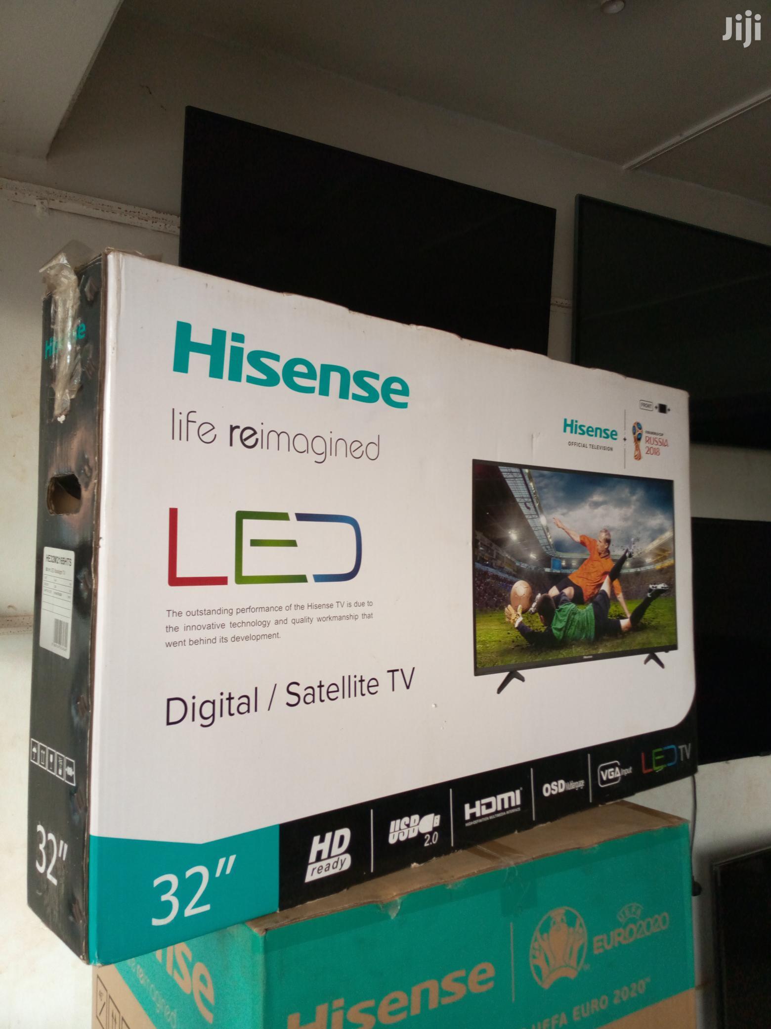 Hisense Digital Satellite Full HD Led Flat Screen Tv 32 Inches