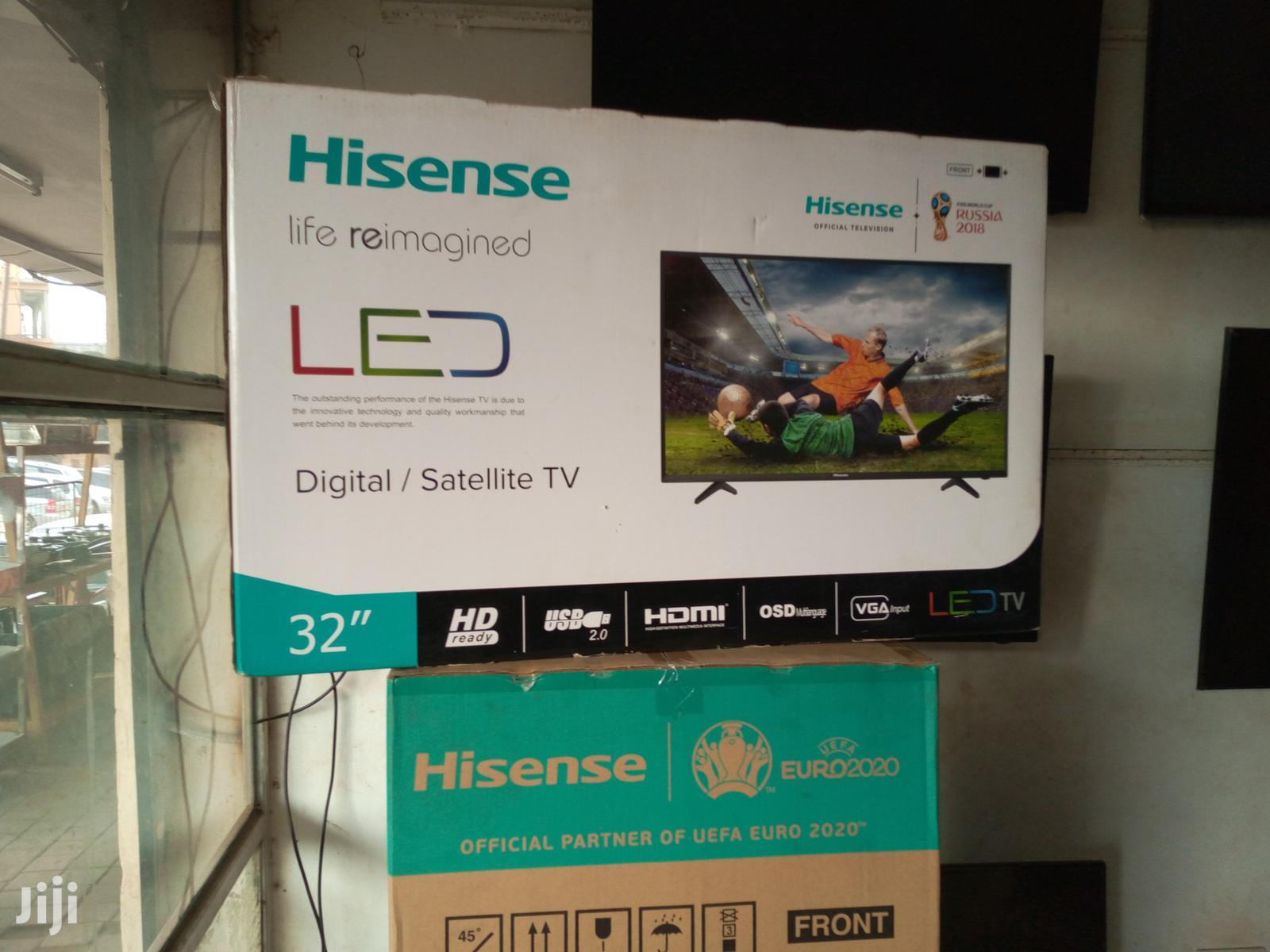Hisense Digital Satellite Full HD Led Flat Screen Tv 32 Inches   TV & DVD Equipment for sale in Kampala, Central Region, Uganda