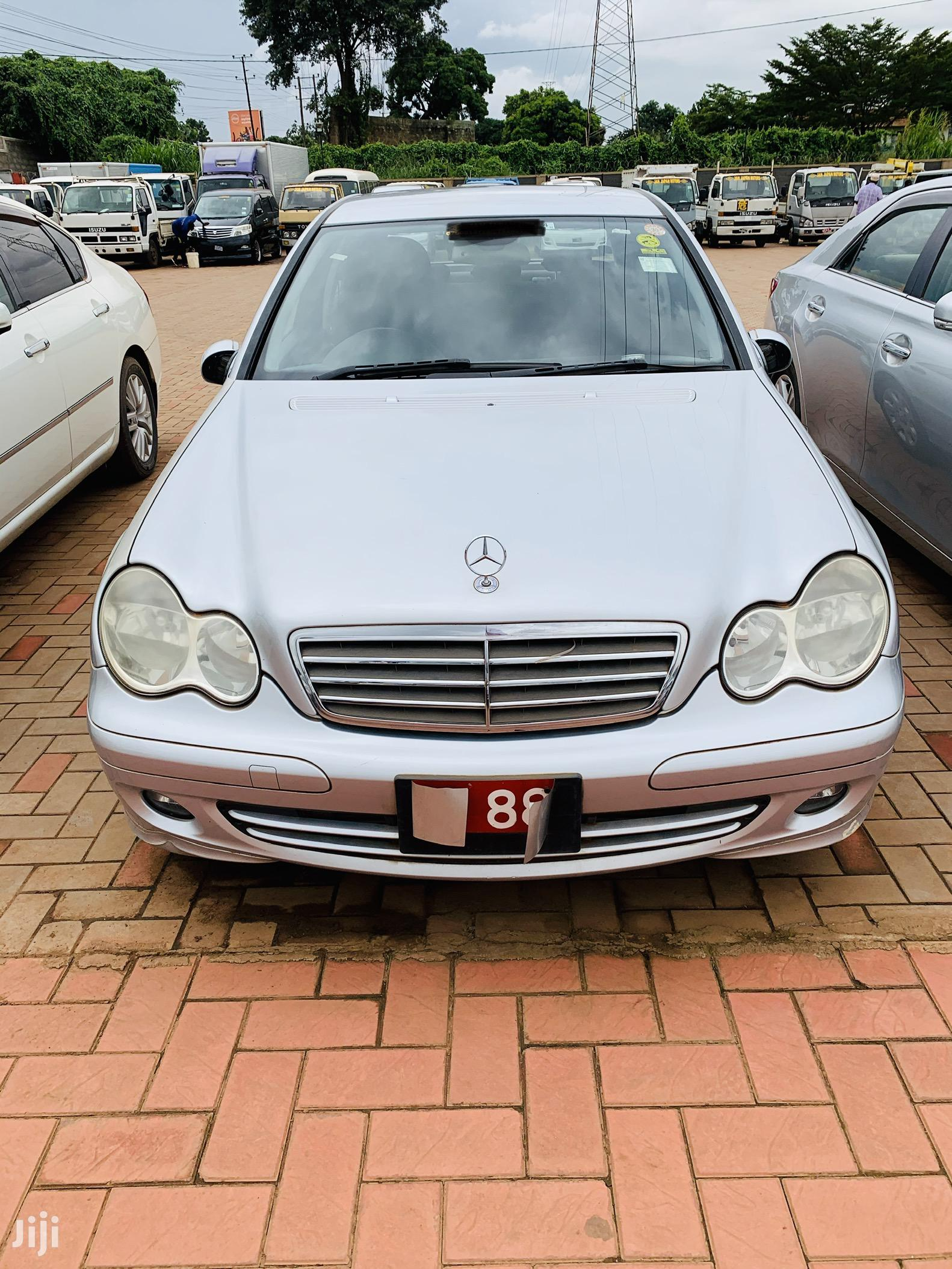 Mercedes-Benz C180 2005 Silver