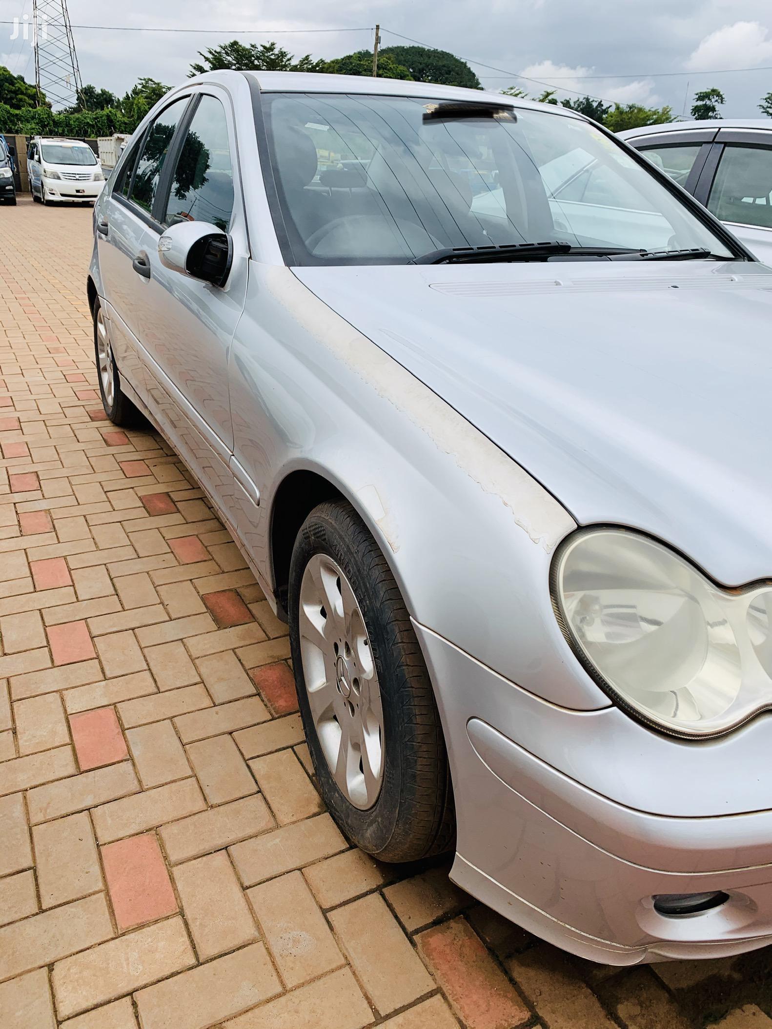 Mercedes-Benz C180 2005 Silver | Cars for sale in Kampala, Central Region, Uganda