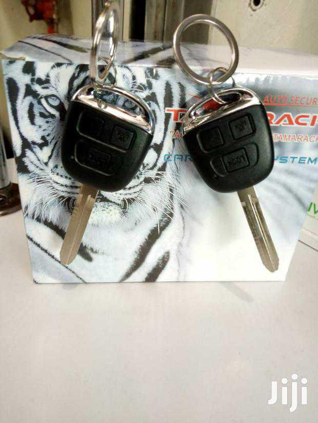 Car Alarm With Key For Toyota And Other Cars