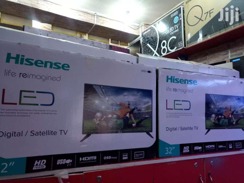 NEW HISENSE 32 LED DIGITAL FLAT SCREEN, 2019 MODEL   TV & DVD Equipment for sale in Kampala, Central Region, Uganda