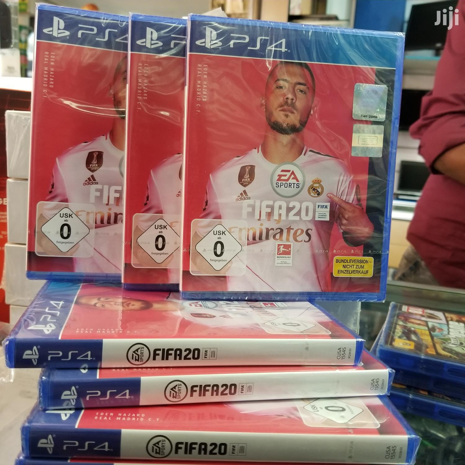 Ps4 Fifa 20 Game Discs | Video Games for sale in Kampala, Central Region, Uganda