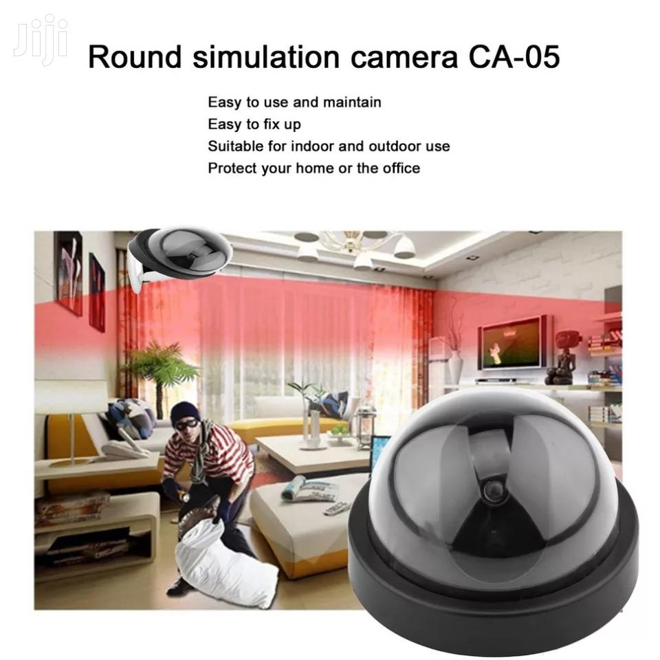 Archive: Fake Dome Dummy Camera With Flash LED Light Home Security
