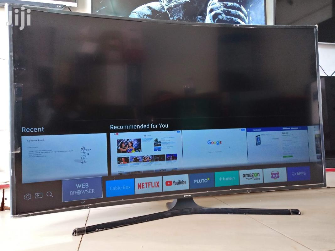 Brand New Samsung 55inches Smart Uhd 4k Curved Tv