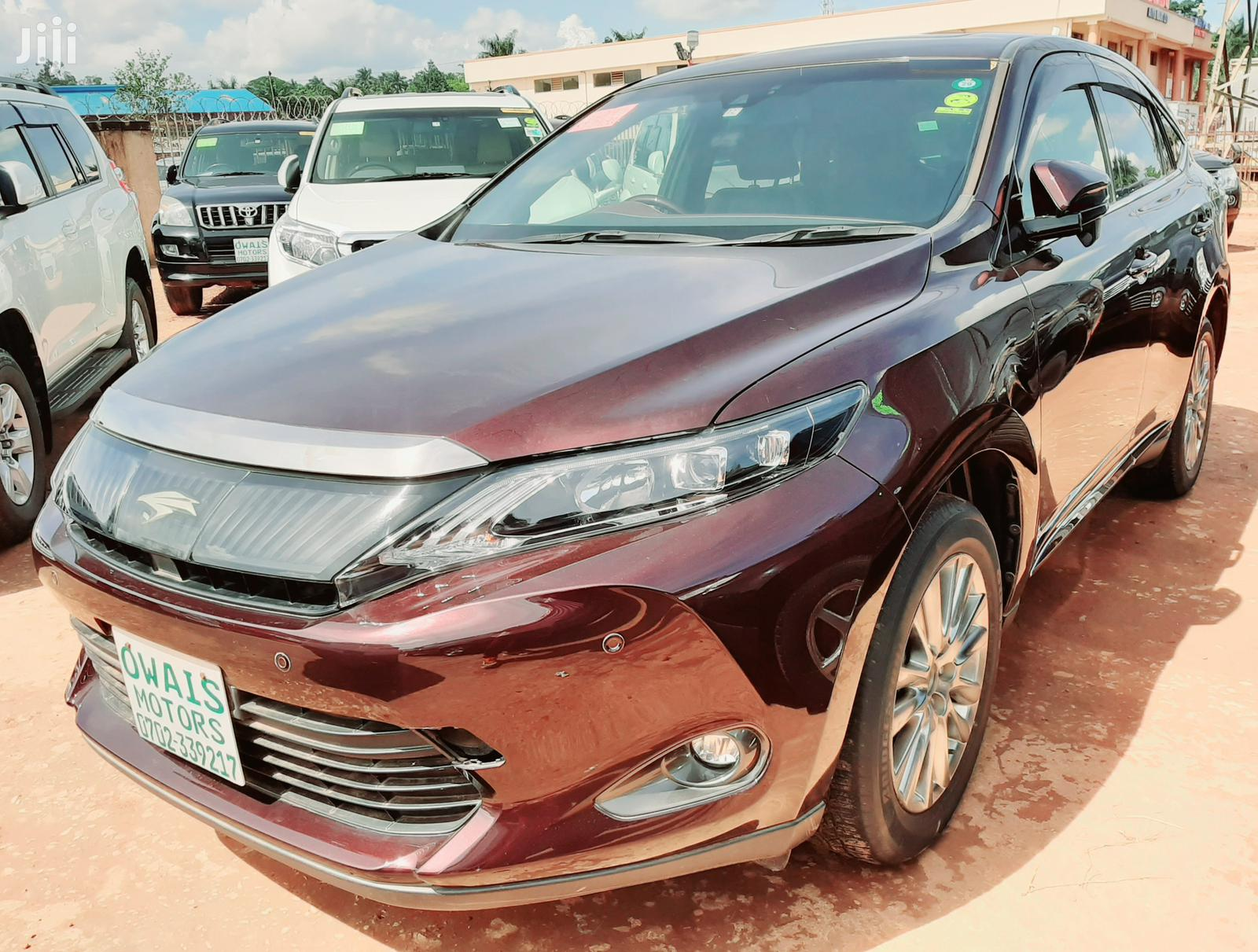 Toyota Harrier 2014 Red