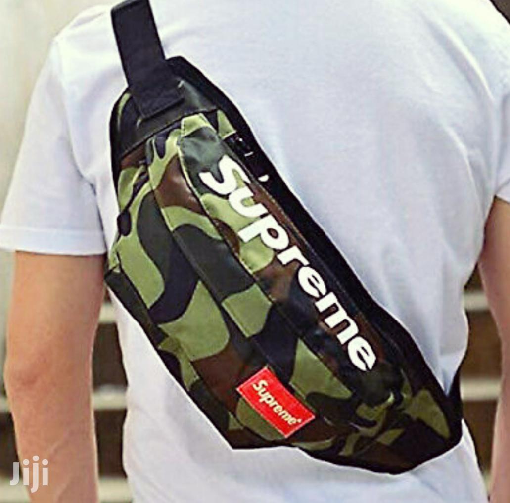 Supreme Unisex Waterproof Shoulder Bag