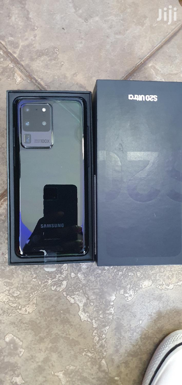 Archive: New Samsung Galaxy S20 Ultra 128 GB Black