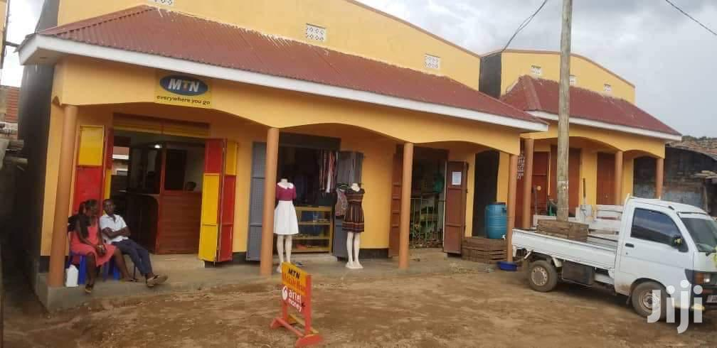 Five Units Shops In Lweza Entebbe Road For Sale