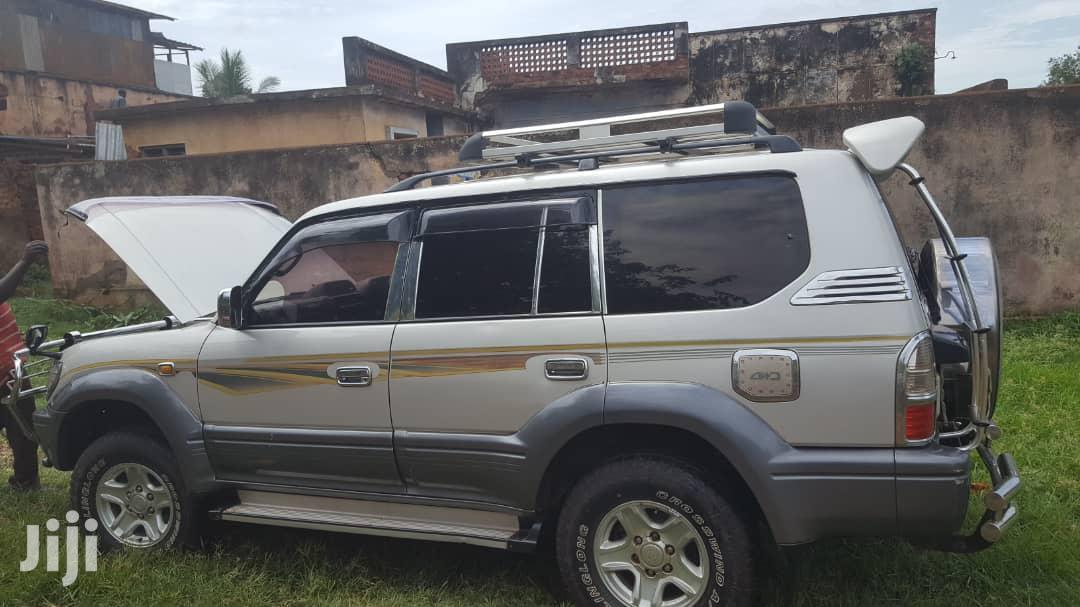 Toyota Land Cruiser Prado 1998 Silver   Cars for sale in Jinja, Eastern Region, Uganda