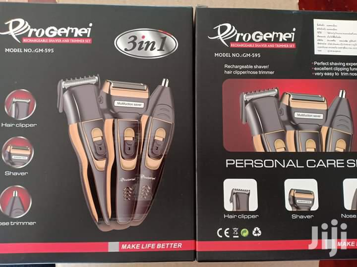 Progemei Rechargeable 3 In 1 Shaver | Tools & Accessories for sale in Kampala, Central Region, Uganda
