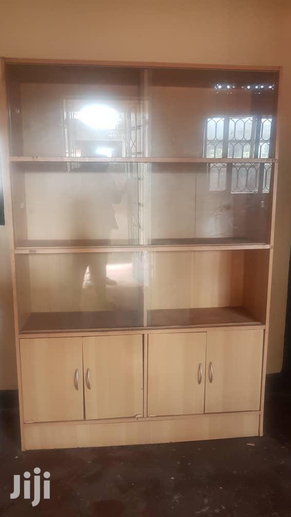 Book Shelf Cabinet With Glass Doors for Sale   Furniture for sale in Kampala, Central Region, Uganda