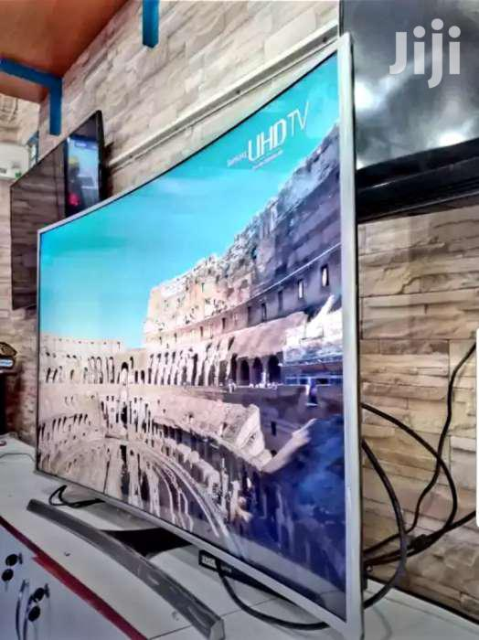 New Samsung Smart UHD 4k Curved Screen TV 55 Inches   TV & DVD Equipment for sale in Kampala, Central Region, Uganda