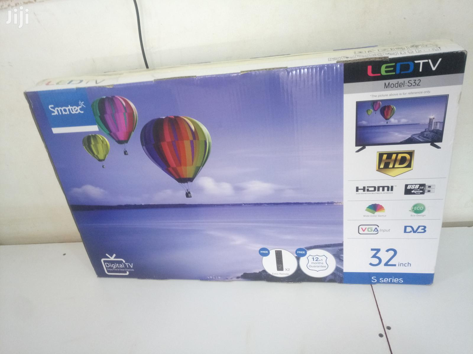 Smartec Flat Screen Digital TV 32 Inches | TV & DVD Equipment for sale in Kampala, Central Region, Uganda