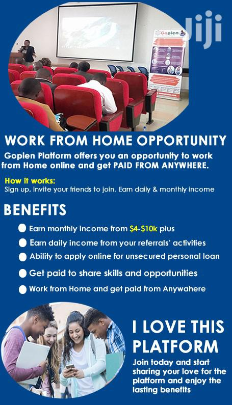 Archive: Work From Home Opportunity-no Skills Needed