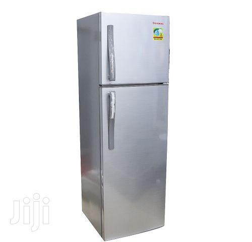 Changhong 360L Top Freezer Double Door Refrigerator - Silver