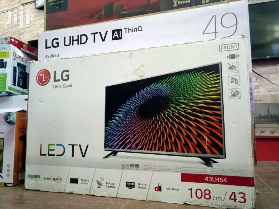 NEW LG 43 DIGITAL/SATELLITE FLAT SCREEN TV
