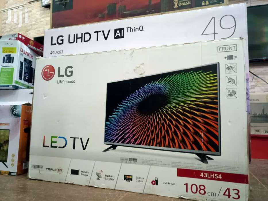 NEW LG 43 DIGITAL/SATELLITE FLAT SCREEN TV | TV & DVD Equipment for sale in Kampala, Central Region, Uganda
