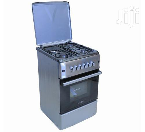 Cooker 50x55cm 3 Gas + 1 Electric Gas Oven - Inox