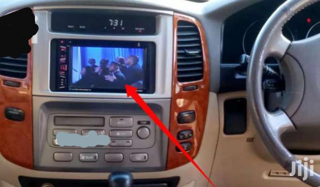 SCREENED Car Radio For Landcruiser V8