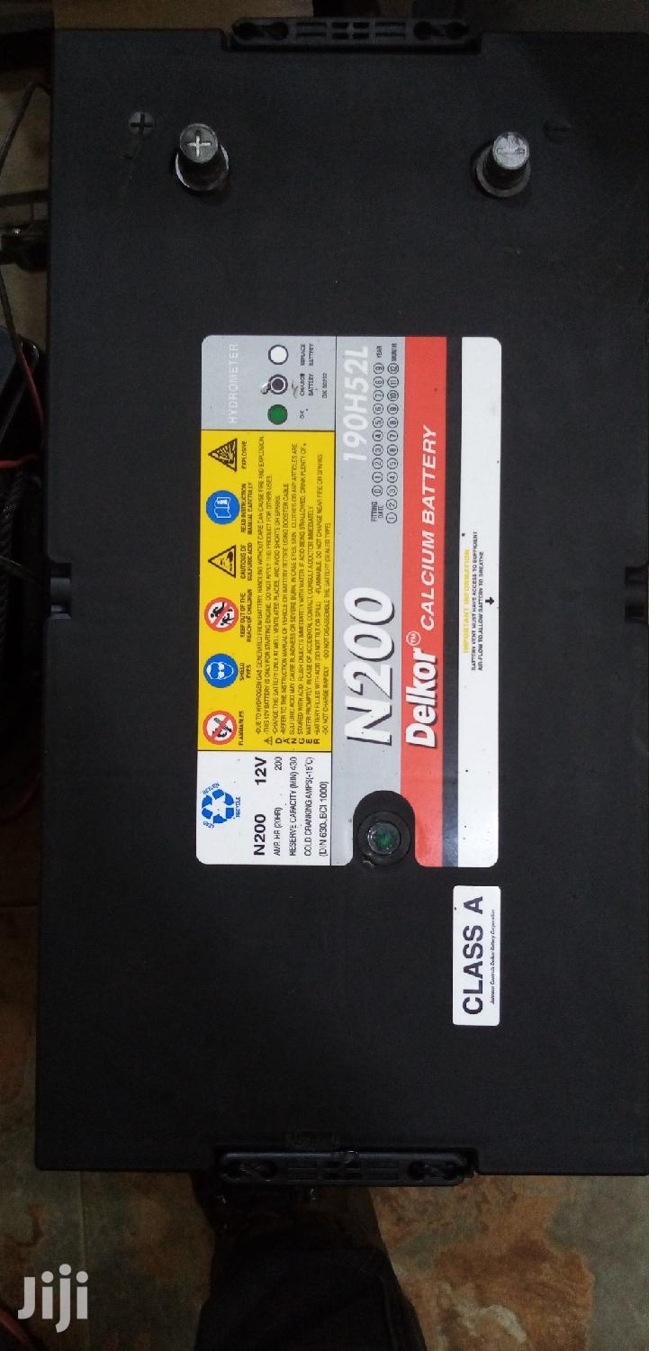 DELKOR Calcium Battery 12V/250AH | Solar Energy for sale in Kampala, Central Region, Uganda