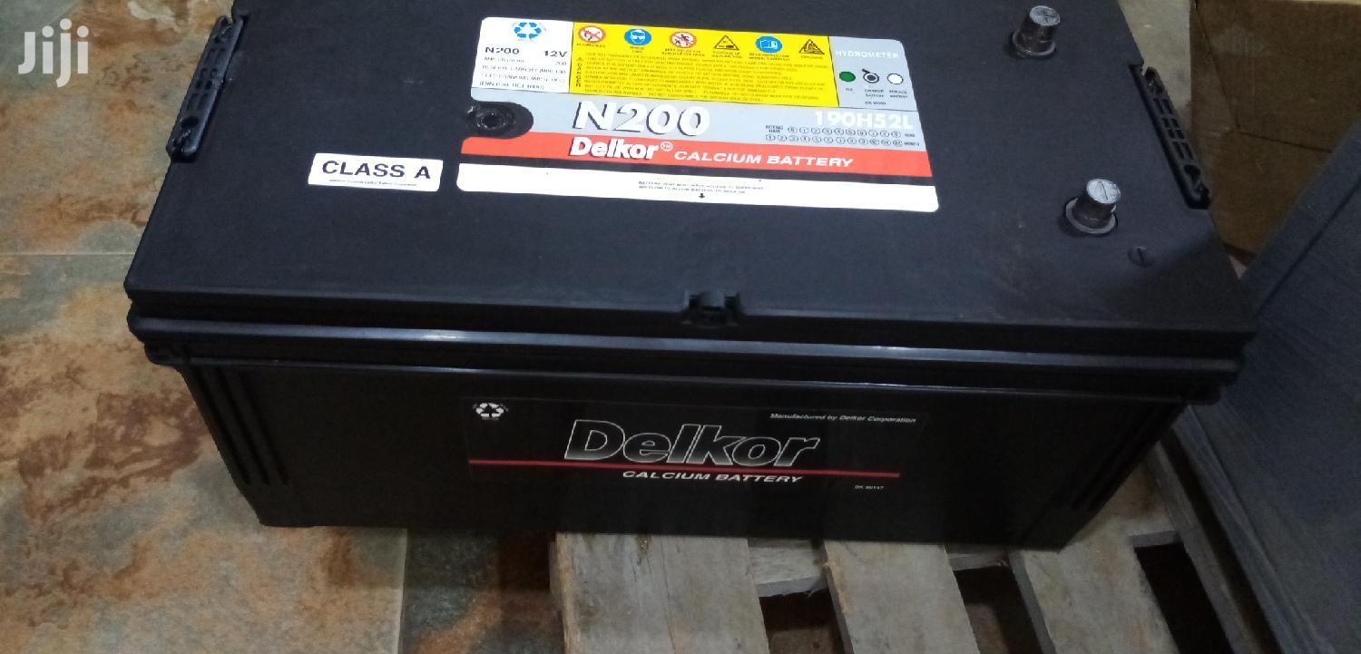 DELKOR Calcium Battery 12V/250AH