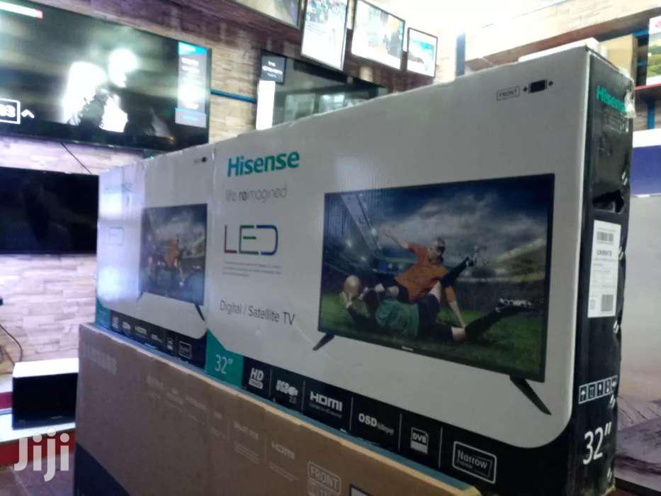 NEW HISENSE 32inches DIGITAL FLAT SCREEN TV, 2019 Model